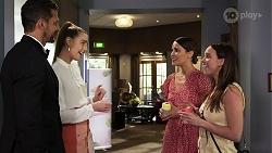 Pierce Greyson, Chloe Brennan, Elly Conway, Bea Nilsson in Neighbours Episode 8310