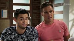 David Tanaka, Aaron Brennan in Neighbours Episode 8310