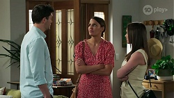 Finn Kelly, Elly Conway, Bea Nilsson in Neighbours Episode 8311
