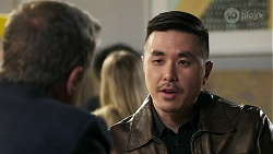 Paul Robinson, John Wong in Neighbours Episode 8311