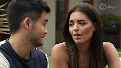 David Tanaka, Paige Smith in Neighbours Episode 8312