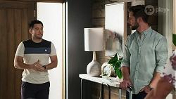 David Tanaka, Mark Brennan in Neighbours Episode 8312