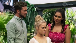Mark Brennan, Roxy Willis, Dipi Rebecchi in Neighbours Episode 8312