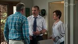 Karl Kennedy, Toadie Rebecchi, Susan Kennedy in Neighbours Episode 8313