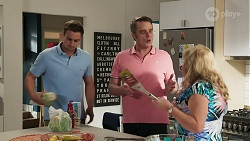 Kyle Canning, Gary Canning, Sheila Canning in Neighbours Episode 8313