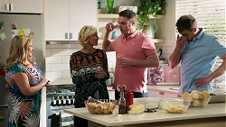 Sheila Canning, Prue Wallace, Gary Canning, Kyle Canning in Neighbours Episode 8314