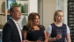 Paul Robinson, Terese Willis, Harlow Robinson in Neighbours Episode 8314