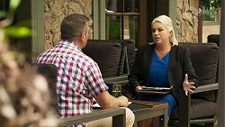 Mark Gottlieb, Lucy Robinson in Neighbours Episode 8314