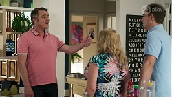 Gary Canning, Sheila Canning, Kyle Canning in Neighbours Episode 8314
