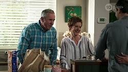 Karl Kennedy, Susan Kennedy, Finn Kelly, Bea Nilsson in Neighbours Episode 8314