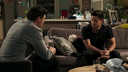 Finn Kelly, David Tanaka in Neighbours Episode 8315
