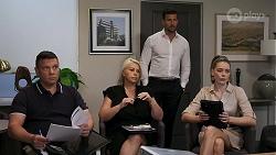 Mark Gottlieb, Lucy Robinson, Pierce Greyson, Chloe Brennan in Neighbours Episode 8315