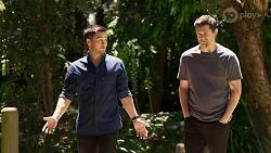 David Tanaka, Finn Kelly in Neighbours Episode 8315