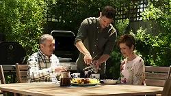 Karl Kennedy, Finn Kelly, Susan Kennedy in Neighbours Episode 8316
