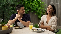David Tanaka, Elly Conway in Neighbours Episode 8316