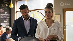 Pierce Greyson, Chloe Brennan in Neighbours Episode 8316