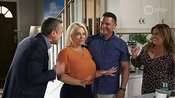 Paul Robinson, Lucy Robinson, Mark Gottlieb, Terese Willis in Neighbours Episode 8317