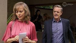 Jane Harris, Dipi Rebecchi, Terese Willis, Paul Robinson in Neighbours Episode 8317