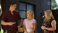 Kyle Canning, Roxy Willis, Sheila Canning in Neighbours Episode 8318