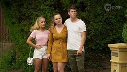 Roxy Willis, Harlow Robinson, Hendrix Greyson in Neighbours Episode 8318