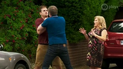 Kyle Canning, Gary Canning, Sheila Canning in Neighbours Episode 8318