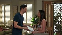 Finn Kelly, Bea Nilsson in Neighbours Episode 8320