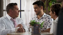 Mark Gottlieb, David Tanaka, Susan Kennedy in Neighbours Episode 8320
