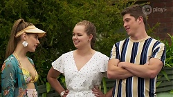 Chloe Brennan, Harlow Robinson, Hendrix Greyson in Neighbours Episode 8320