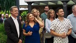 Paul Robinson, Terese Willis, Sky Mangel, Jane Harris, David Tanaka, Karl Kennedy in Neighbours Episode 8320