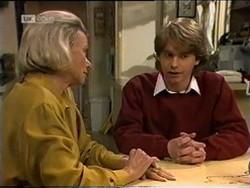 Helen Daniels, Brett Stark in Neighbours Episode 2181