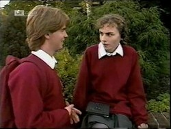Brett Stark, Debbie Martin in Neighbours Episode 2181