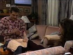 Mark Gottlieb, Gaby Willis in Neighbours Episode 2181