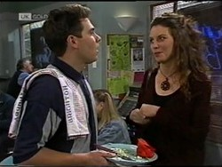 Mark Gottlieb, Gaby Willis in Neighbours Episode 2182