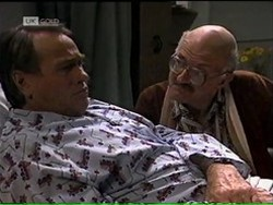 Doug Willis, Colin Taylor in Neighbours Episode 2185