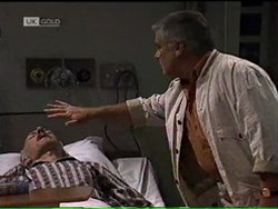 Colin Taylor, Lou Carpenter in Neighbours Episode 2185