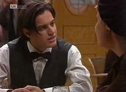 Rick Alessi, Cassandra Rushmore in Neighbours Episode 2205
