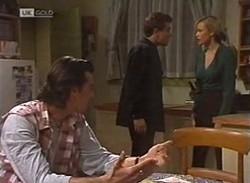 Sam Kratz, Mark Gottlieb, Annalise Hartman in Neighbours Episode 2205
