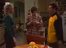 Annalise Hartman, Rick Alessi, Mark Gottlieb in Neighbours Episode 2205