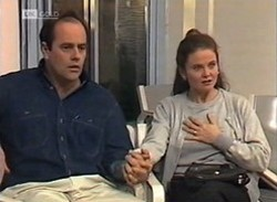 Philip Martin, Julie Martin in Neighbours Episode 2205