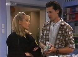 Annalise Hartman, Sam Kratz in Neighbours Episode 2205