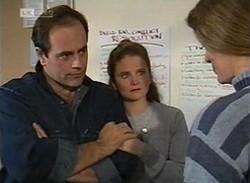 Philip Martin, Julie Martin, Rita Toulis in Neighbours Episode 2205