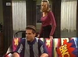 Mark Gottlieb, Annalise Hartman in Neighbours Episode 2206