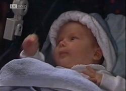 Baby Zac in Neighbours Episode 2206