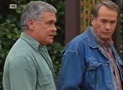 Lou Carpenter, Doug Willis in Neighbours Episode 2206