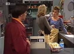 Rick Alessi, Annalise Hartman, Susie in Neighbours Episode 2206