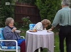 Marlene Kratz, Cheryl Stark, Lou Carpenter in Neighbours Episode 2206