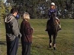 Philip Martin, Helen Daniels, Hannah Martin in Neighbours Episode 2209