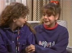 Debbie Martin, Hannah Martin in Neighbours Episode 2209