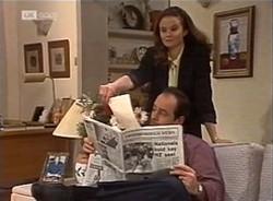 Julie Martin, Philip Martin in Neighbours Episode 2209