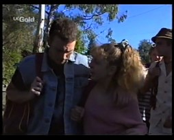 Stonie Rebecchi, Hannah Martin, Billy Kennedy, Malcolm Kennedy in Neighbours Episode 2360